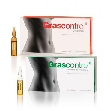 Pack Grascontrol Extracto De Alcachofa + L Carnitina Mesoestetic