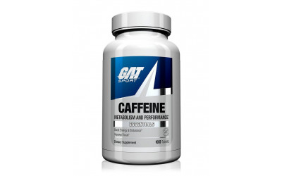 Caffeine Cafeina 100 Tabs GAT Sport
