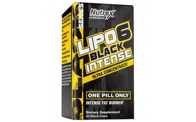 Lipo 6 Black Intense Ultra Concentrado Nutrex