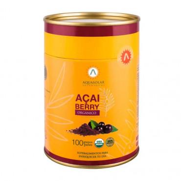 Acai Berry Organico 100Grs Aquasolar