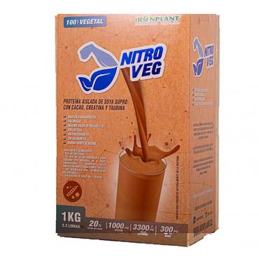 Nitroveg-Proteina-soya-Iron-plant-cacao