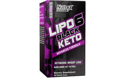 Lipo 6 Black Keto 60 Caps Nutrex