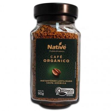 Cafe Instantaneo 90 g Organico Native