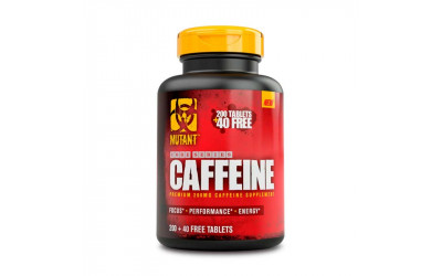 Caffeine Cafeina 240 Comp Mutant