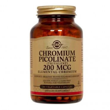 Chromium Picolinate 200 mcg Solgar