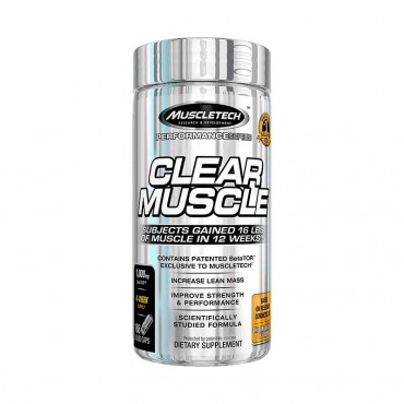 Clear Muscle MHB 168 Caps Muscletech