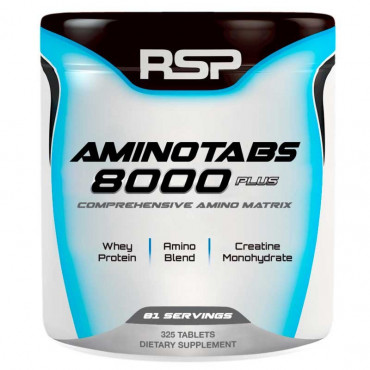 Aminotabs 8000 325 Tabs RSP Nutrition