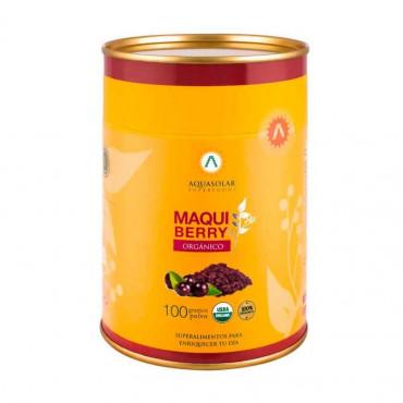 Maqui Berry Organico 100 g Aquasolar