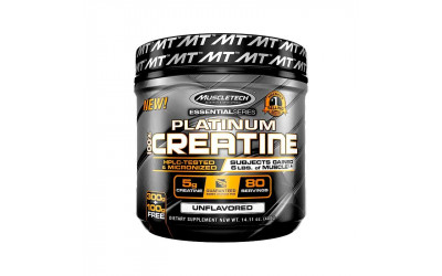 Platinum 100% Creatine Muscletech