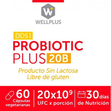 Probiotic Plus 20B Wellplus