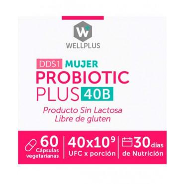 Probiotic Plus Mujer 40B Wellplus